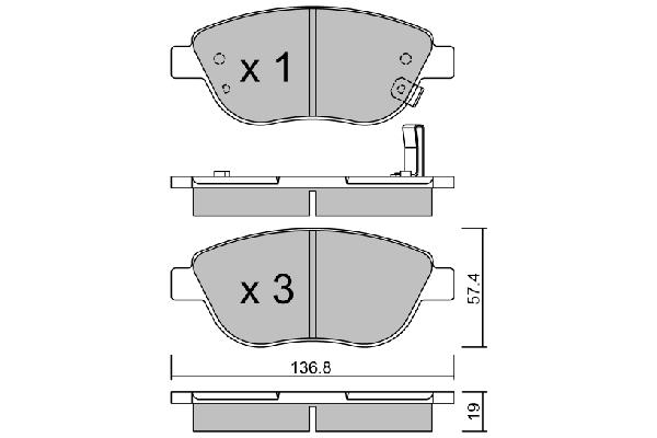 Injecteur Diesel pour OPEL CORSA D 3 PORTES 1.3 CDTI 16V 90 cv
