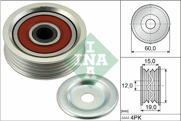 1 tendeur Courroies INA 531 0736 10 Rover Lotus