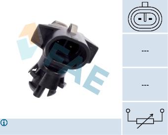 Ridex 1186S0002 Capteur de temp/érature ext/érieure