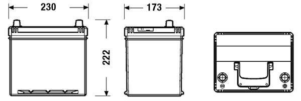 Batterie pour KIA RIO II (JB) au meilleur prix Yakarouler
