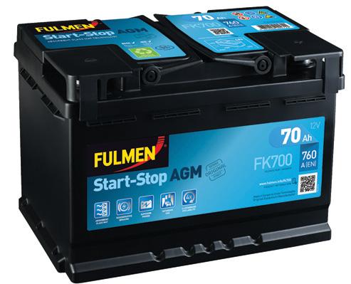 Batterie FULMEN FA1000 Yakarouler