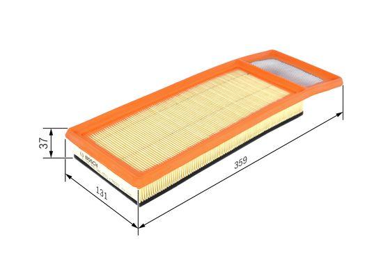 Purflux A1455 filtre /à air moteur